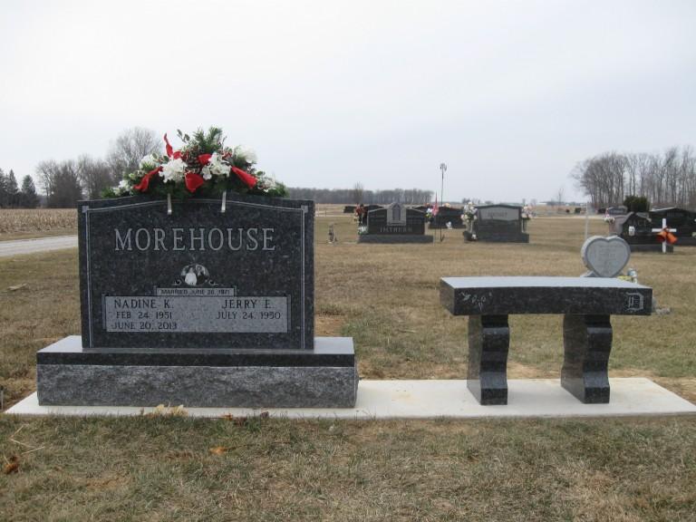 Morehouse bench